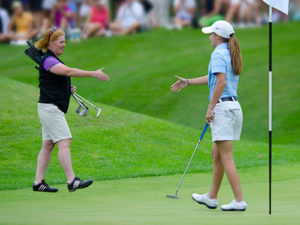 women's golf at Manchester Country Club